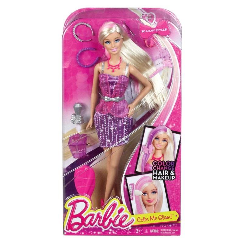 Кукла Barbie Модные прически<br>