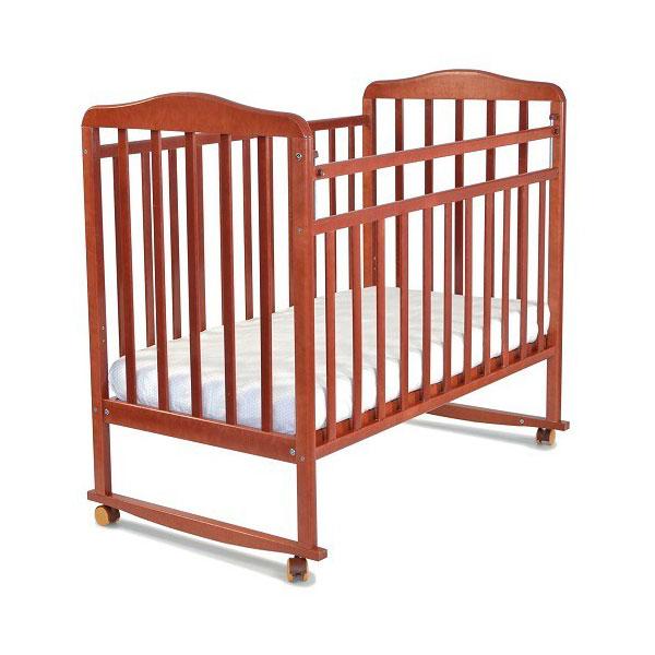 Кроватка СКВ Компани Митенька 1601 Орех 15017<br>