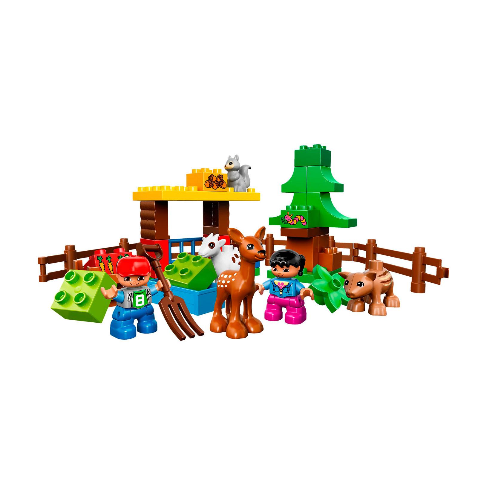 Конструктор LEGO Duplo 10582 Лесные животные<br>