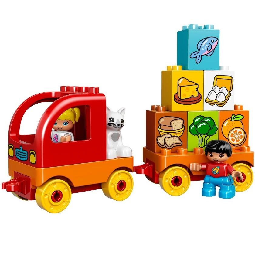 Конструктор LEGO Duplo 10818 Мой первый грузовик<br>
