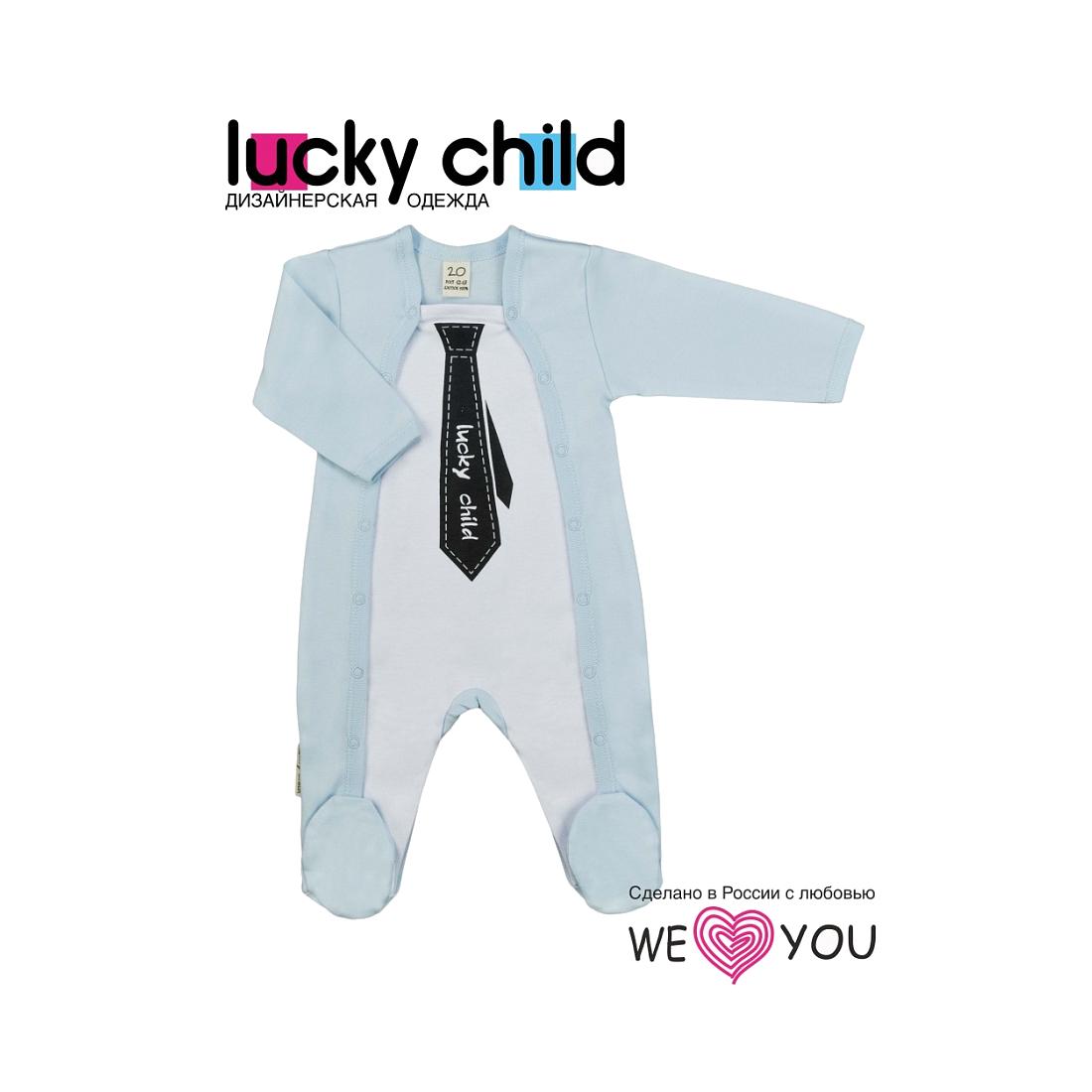 Комбинезон Lucky Child коллекция Джентельмены Галстук Размер 74<br>