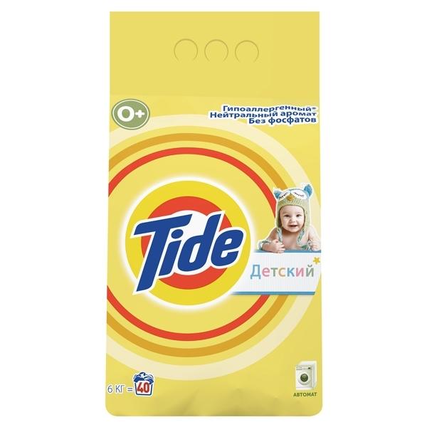 Стиральный порошок Tide Детский 6000 гр для чувствительной кожи<br>