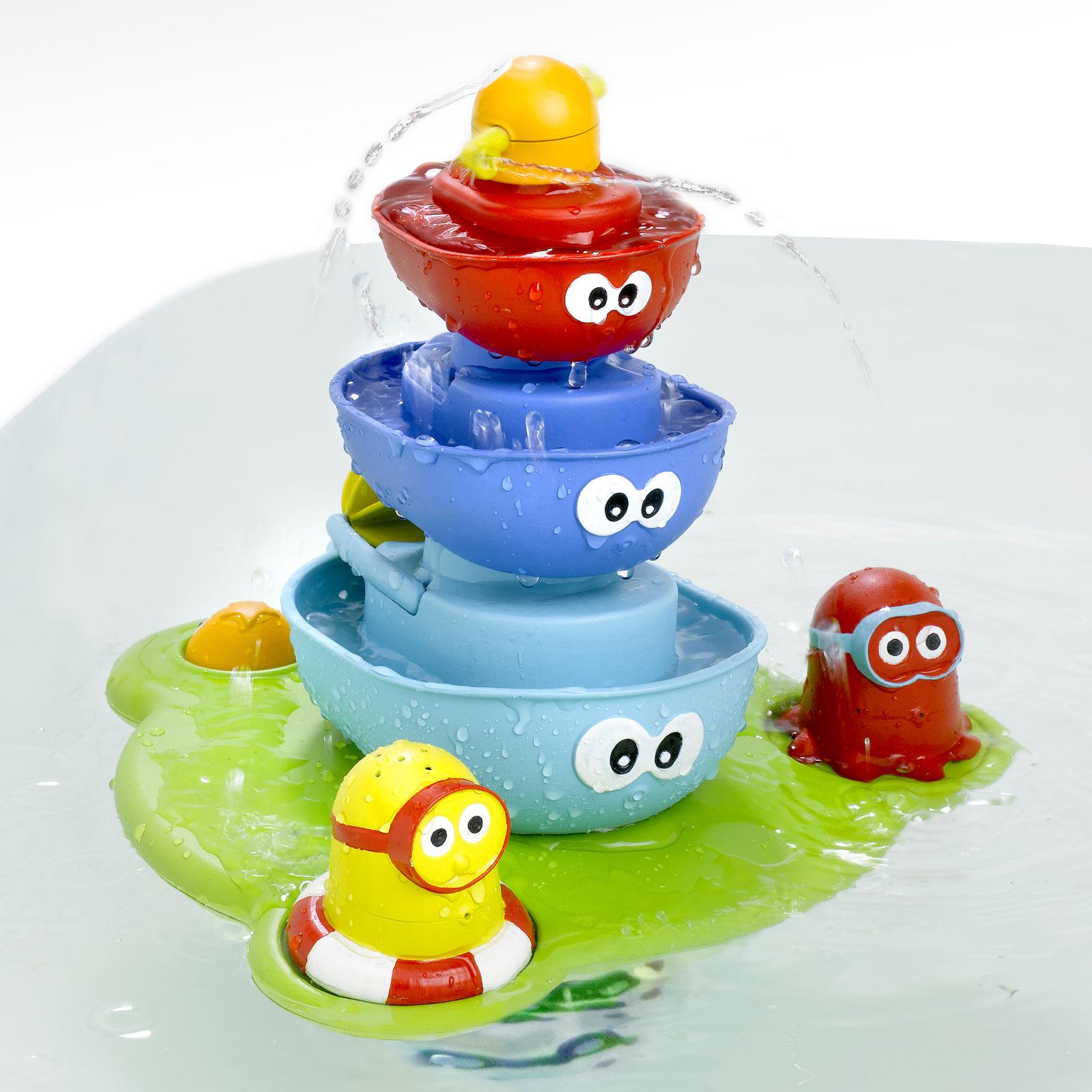 Игрушка для ванны Yookidoo Пирамидка Фонтан<br>