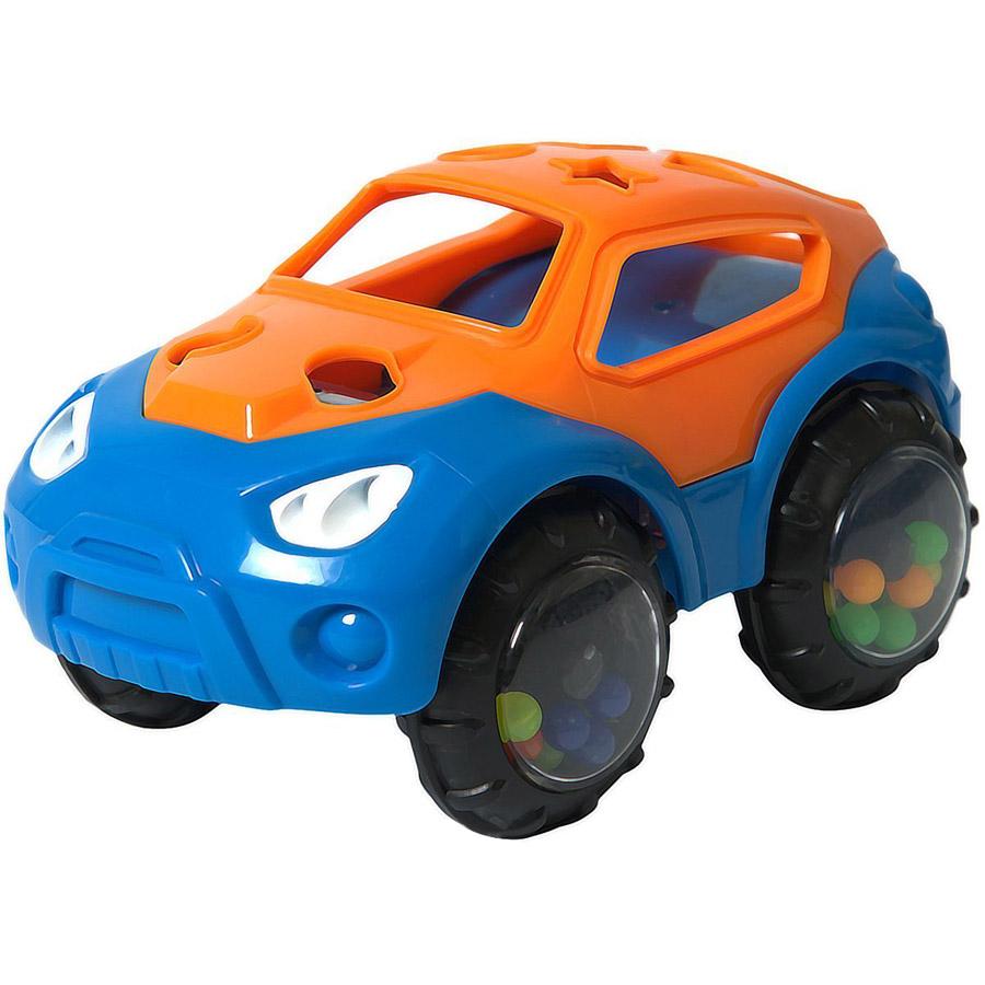 Машинка-неразбивайка Baby Trend Оранжево-синий<br>