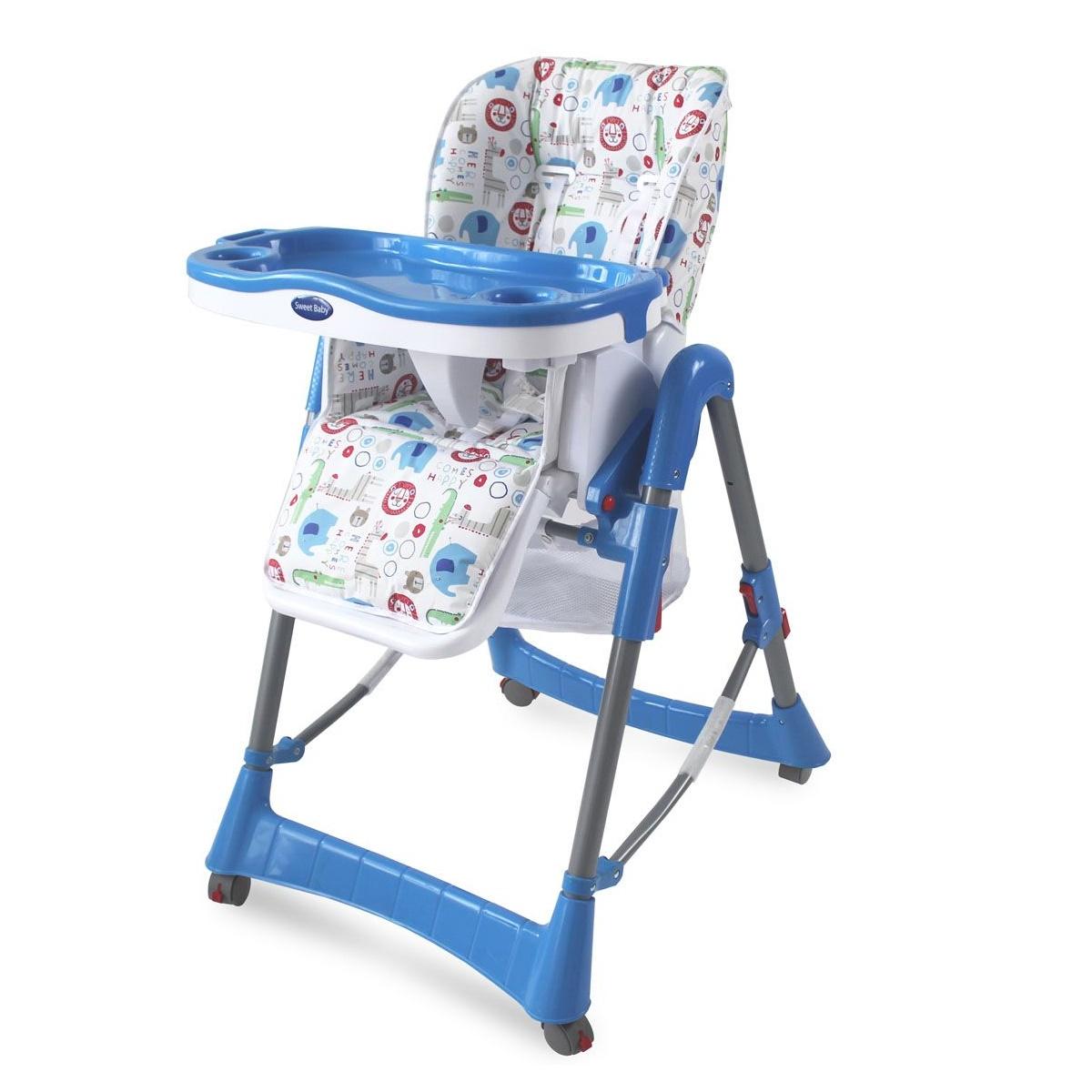 Стульчик для кормления Sweet Baby Elefante Blu<br>