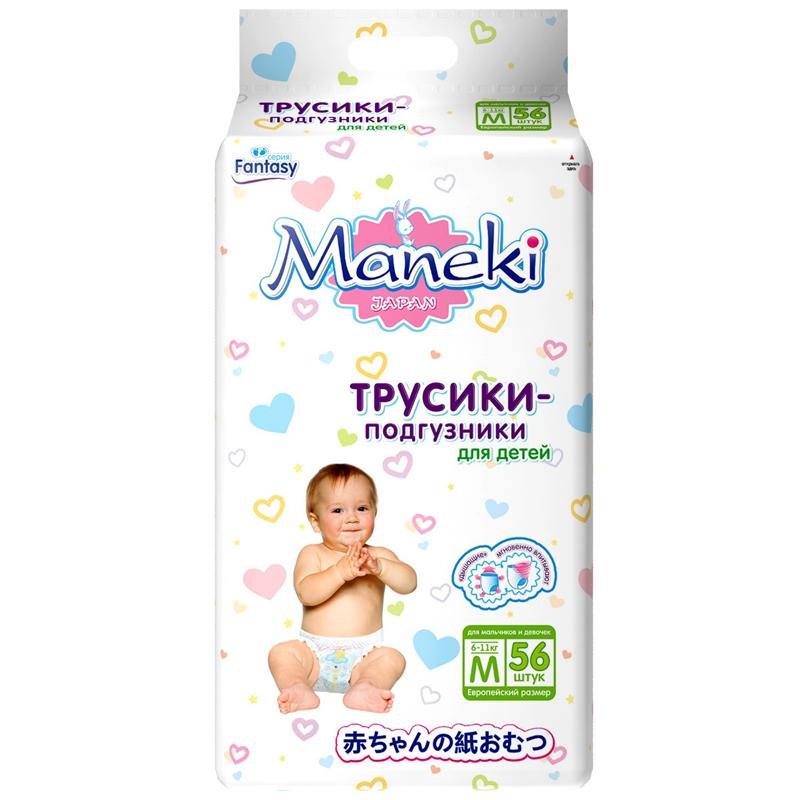 Трусики Maneki Fantasy 6-11 кг 56 шт Размер M<br>