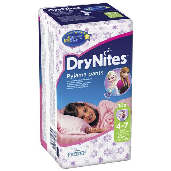 Трусики Huggies DryNites ночные для девочек 4-7 лет 17-30 кг (10 шт)<br>