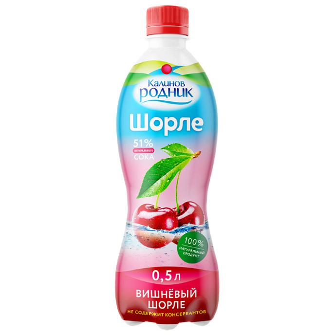 Напиток Шорле Калинов Родник с соком 0,5 л вишневый