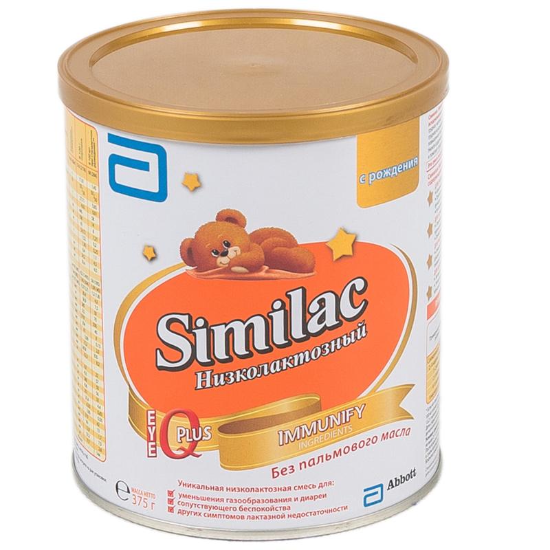 Заменитель Similac Низколактозный 375 гр с 0 мес<br>