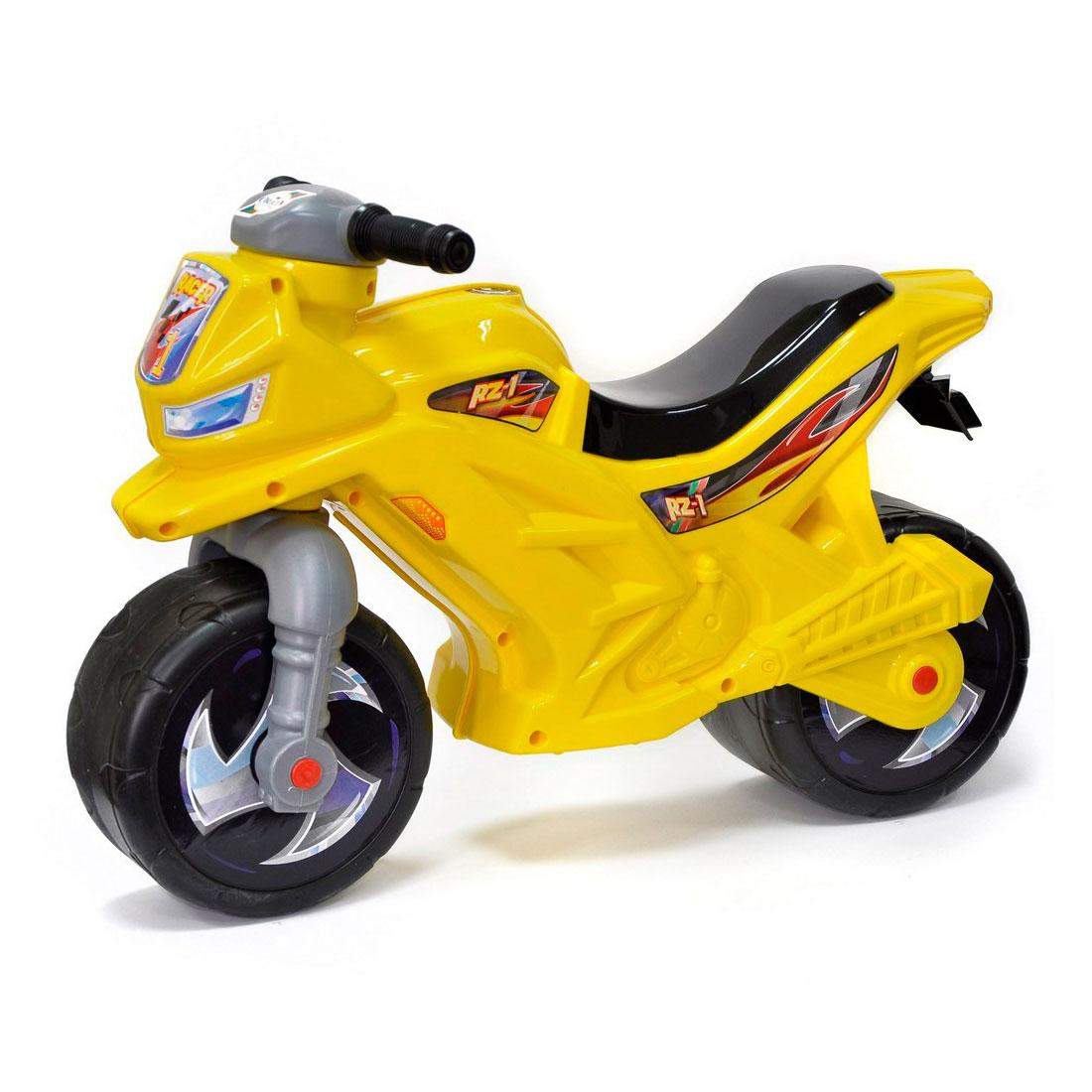 Каталка-беговел RT Racer ОР501 Желтая