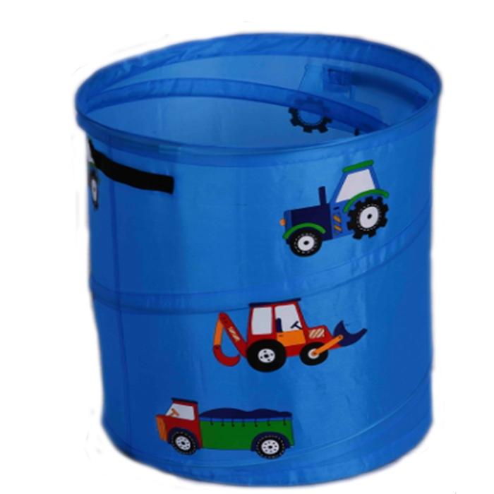 Корзина для игрушек LI HSEN 35х58 см Машинки<br>