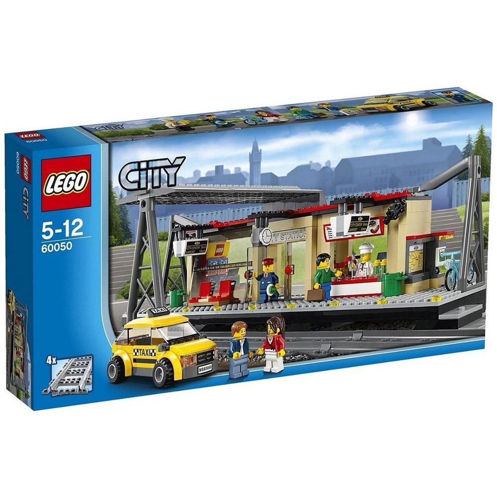 Конструктор LEGO City 60050 Железнодорожная станция<br>