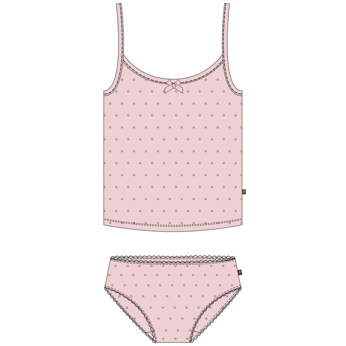 Комплект Ёмаё майка и трусы (33-101) рост 86 розовый<br>