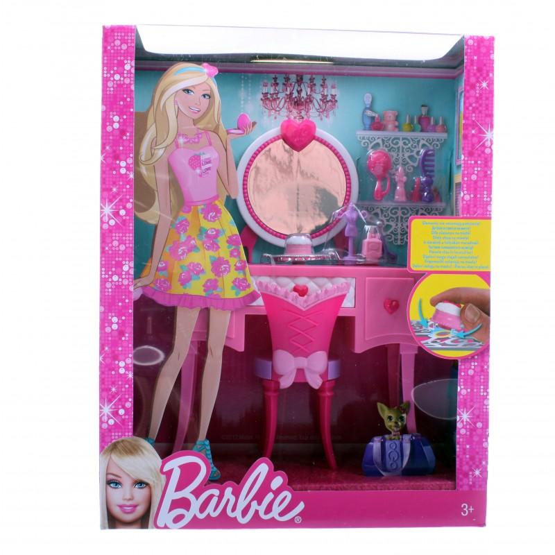 Игровой набор Barbie мебель серии Компактная комната X7940<br>