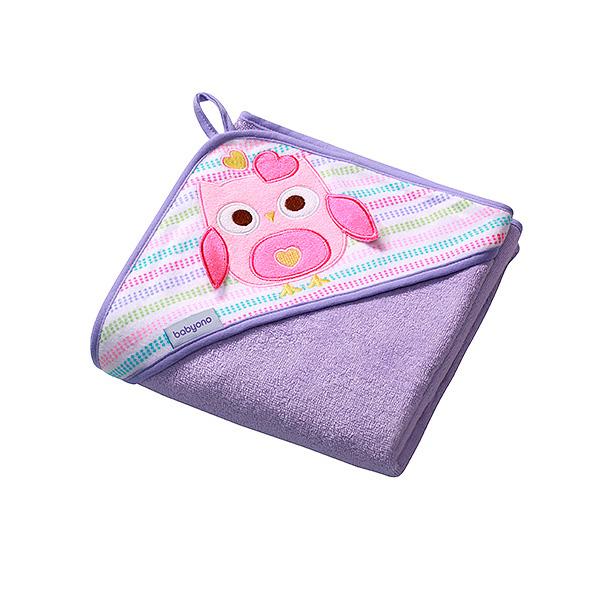 Полотенце BabyOno Soft 100х100 см Фиолетовое<br>