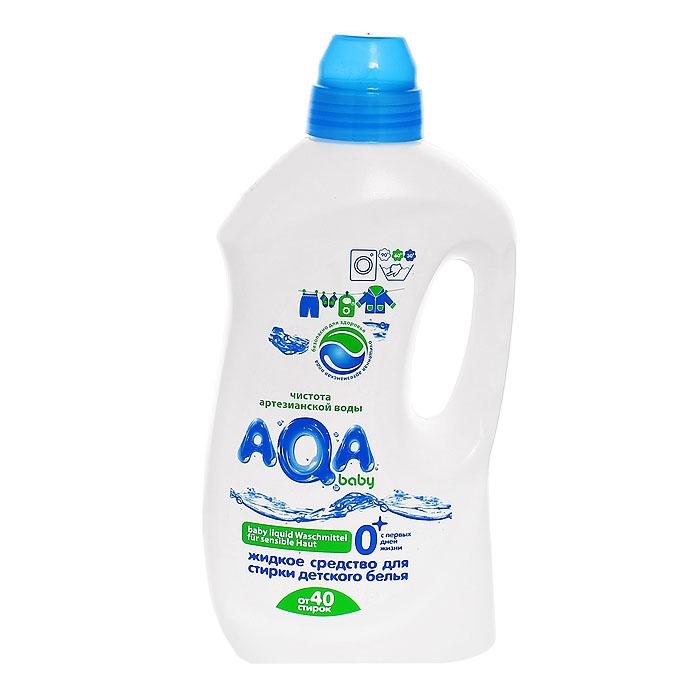 Жидкое средство AQA baby Аква Беби для стирки детского белья 1500 мл Все виды стирки