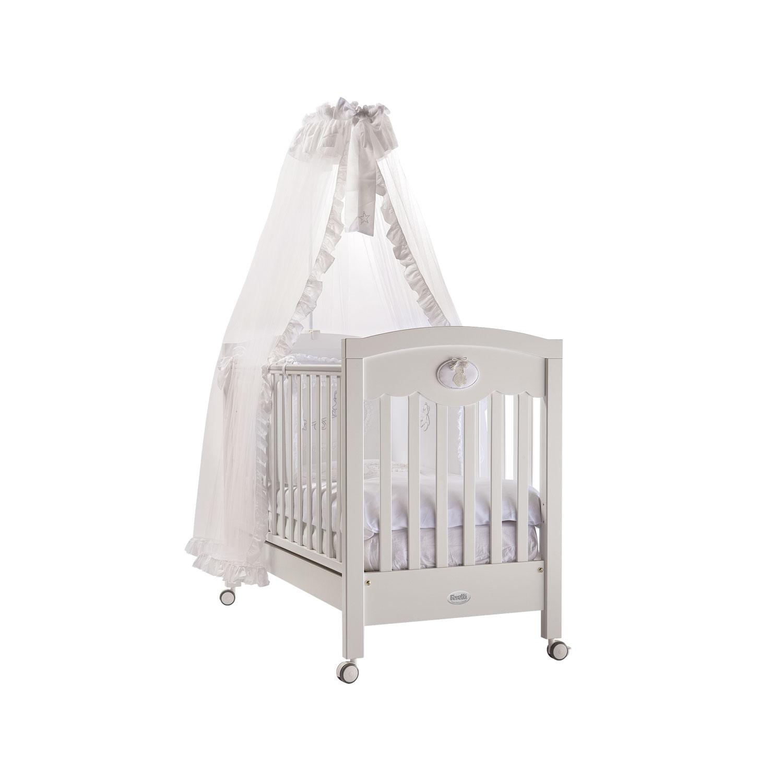 Кроватка Feretti Enchant 125x65 Bianco/White<br>