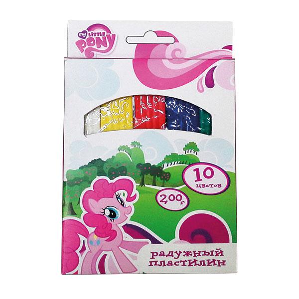 Пластилин Умка Восковой Мy Little Pony 10 цветов