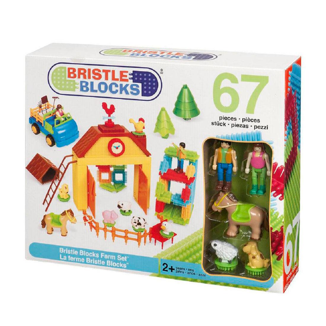 Конструктор Bristle Blocks На ферме в коробке<br>