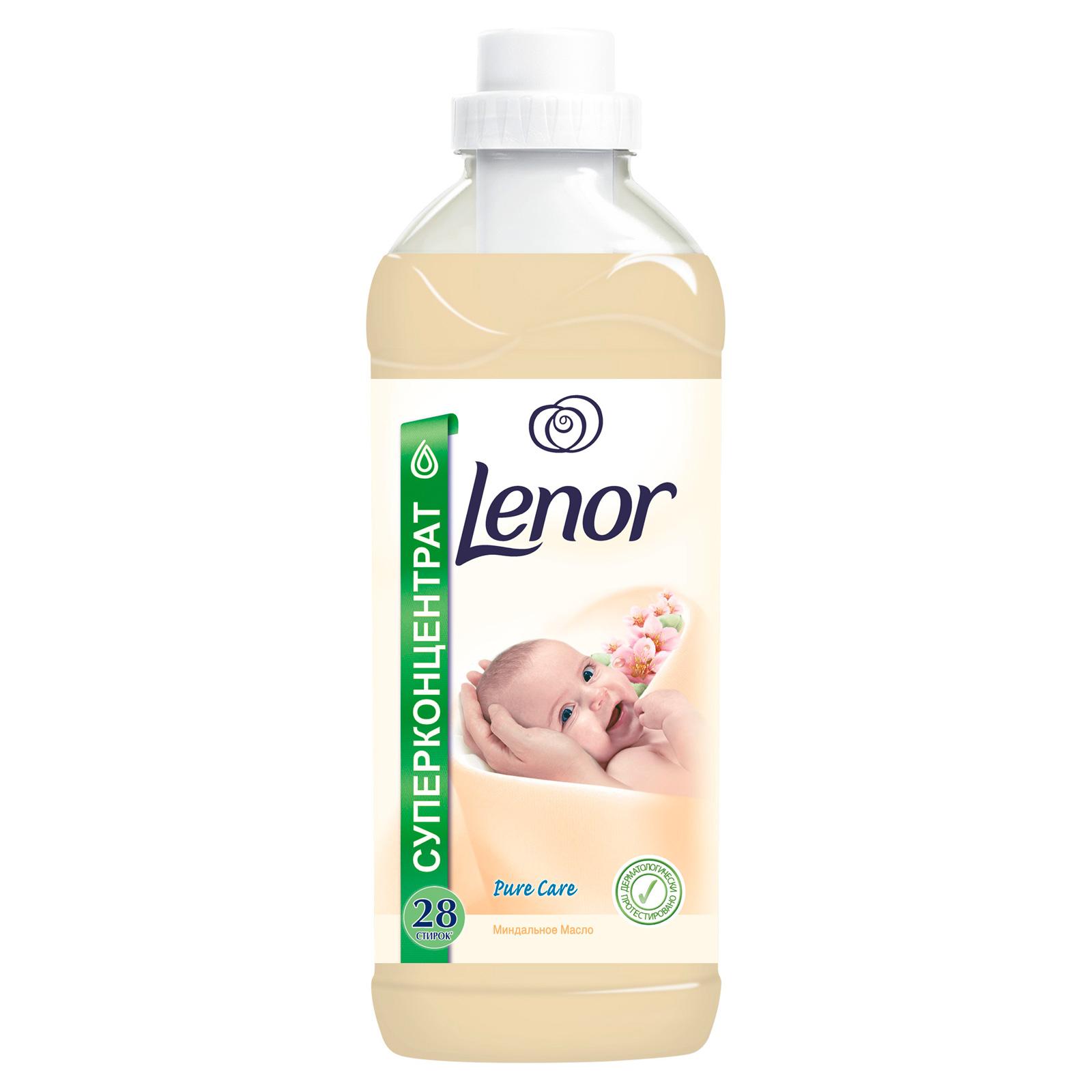 Кондиционер для белья Lenor 1 л Миндальное Масло 1л (28стирок)<br>