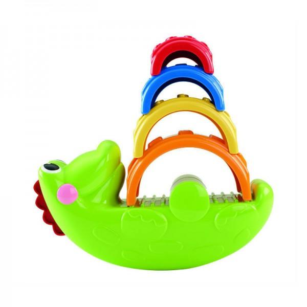 Развивающая пирамидка Fisher Price Крокодильчик<br>