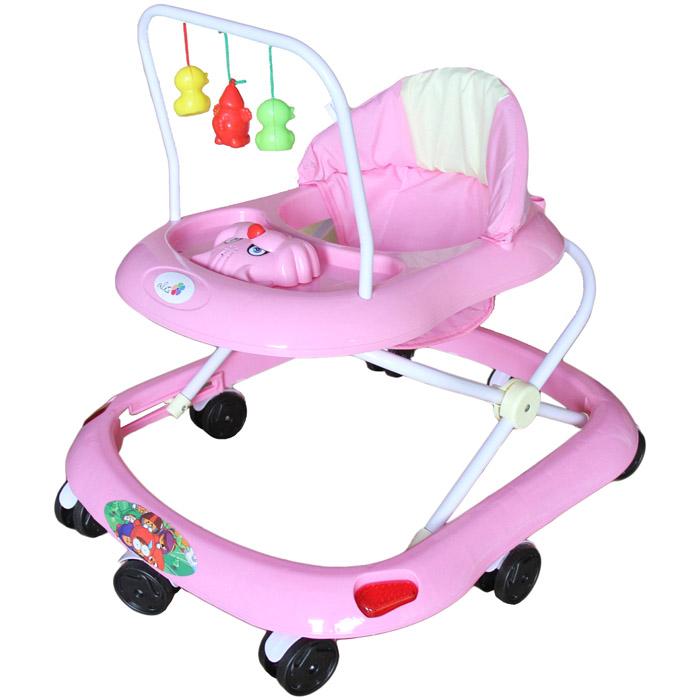 Ходунки Alis Маленький водитель Розовый<br>