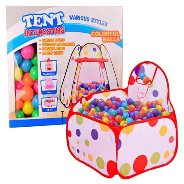 Игровая палатка YAKO Игровая зона с шарами 50 штук Y20206008<br>