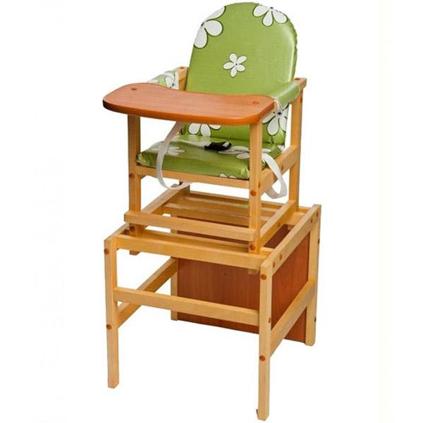 Стул-стол ПМДК Октябренок Ромашки Зелёный<br>