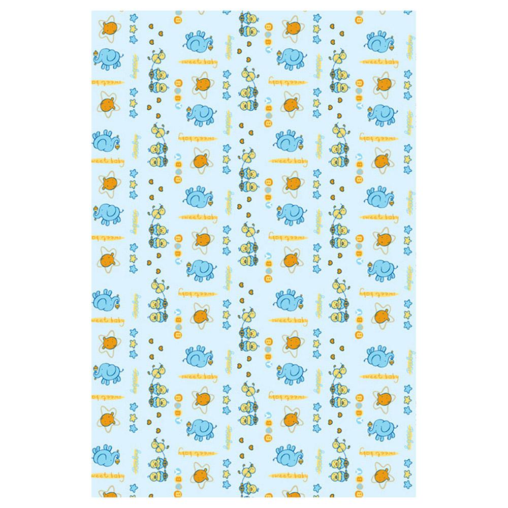Одеяло Baby Nice байковое 100% хлопок 85х115 Цыпленок Голубой<br>