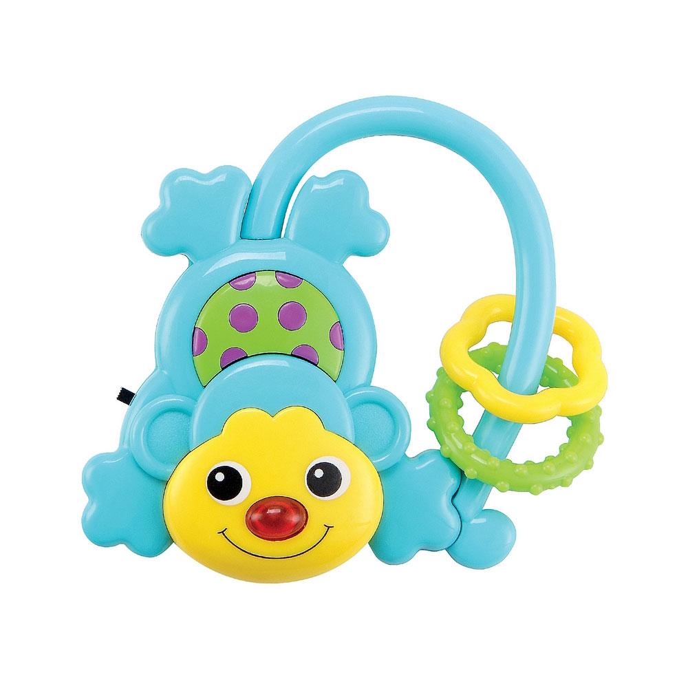 Погремушка Happy Baby Музыкальная обезъянка MONCUS с 3 мес.