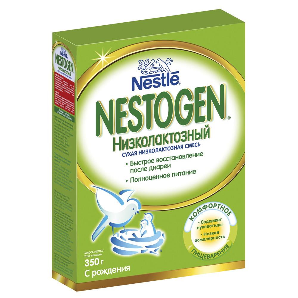 Молочная смесь Nestle Nestogen 350 гр Низколактозный (с 0 мес)<br>