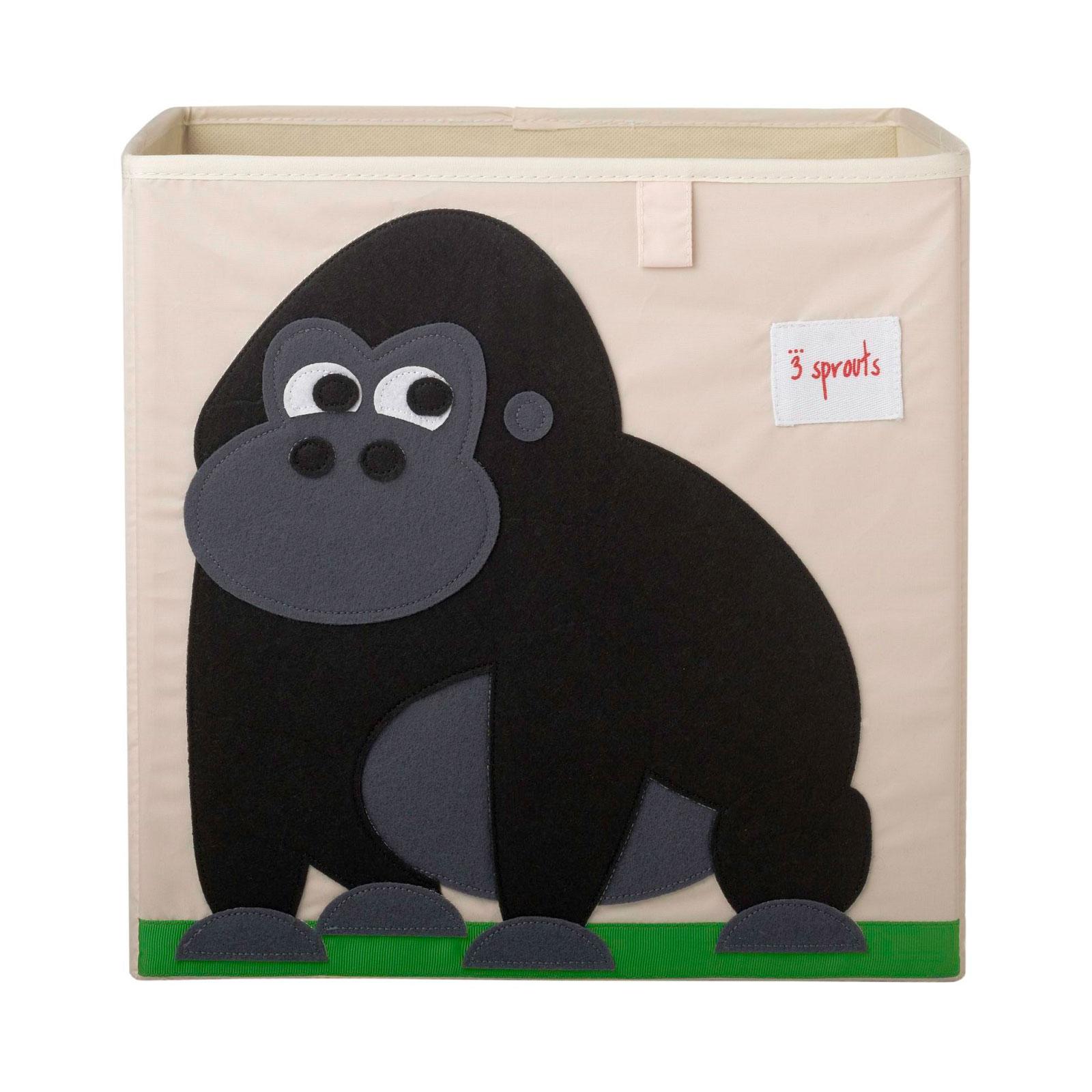 Коробка для хранения 3 Sprouts Горилла (Black Gorilla) Арт. 27250<br>