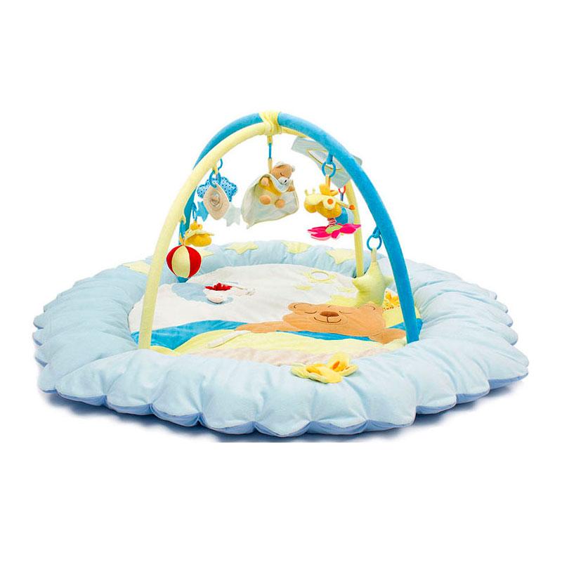 Развивающий коврик Felice Сонный мишка Голубой<br>