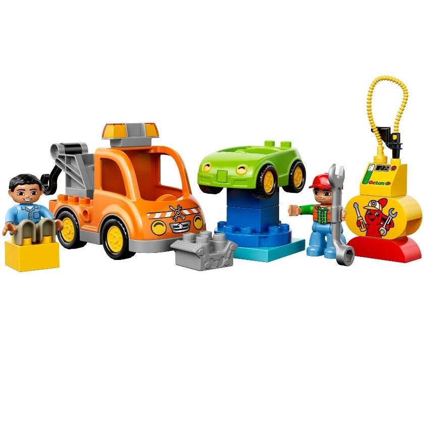 Конструктор LEGO Duplo 10814 Буксировщик<br>