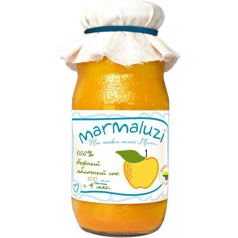 Сок Marmaluzi 200 мл Яблоко нежный (с 4 мес)<br>