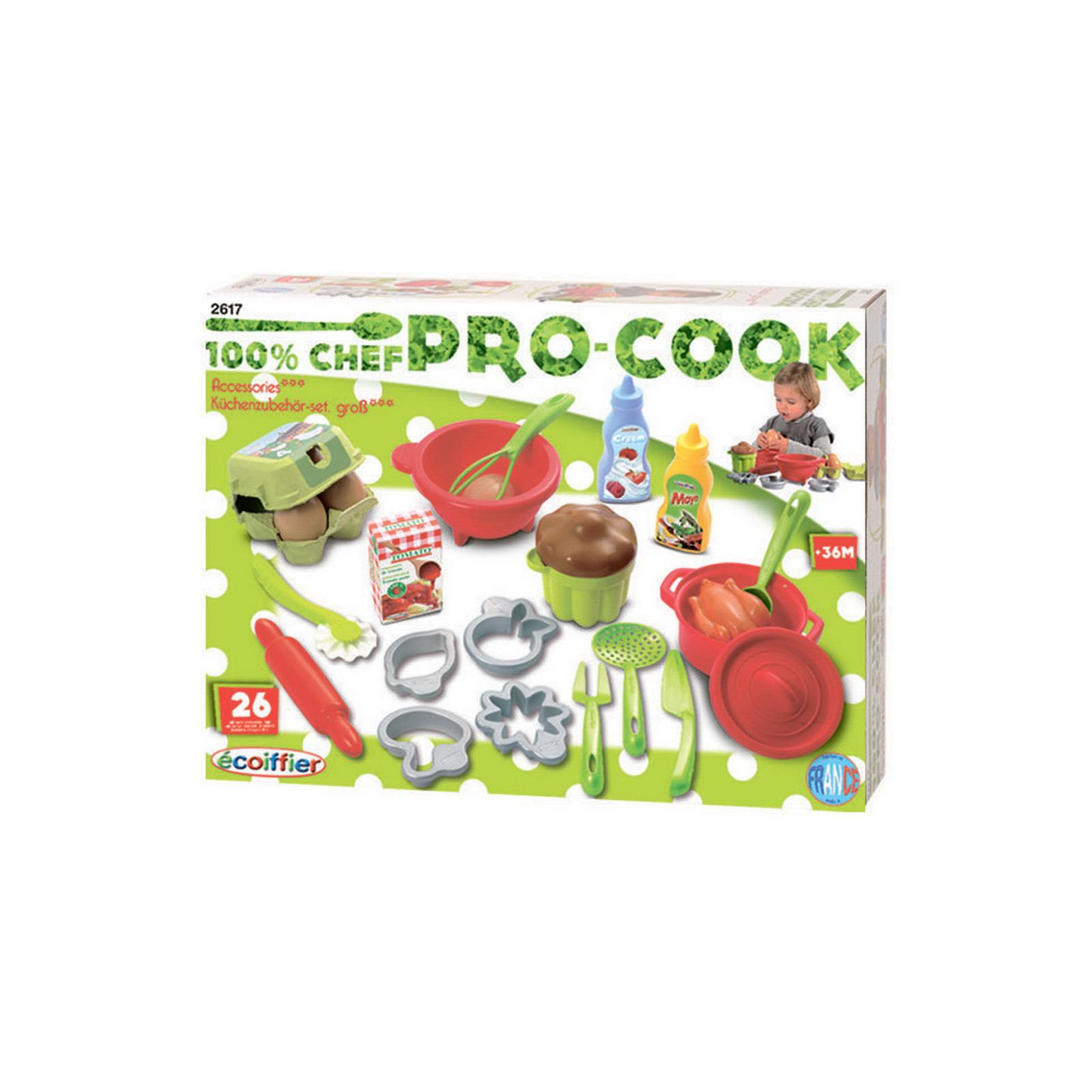 Игровой набор Ecoffier Посудка с продуктами (26 предметов)<br>