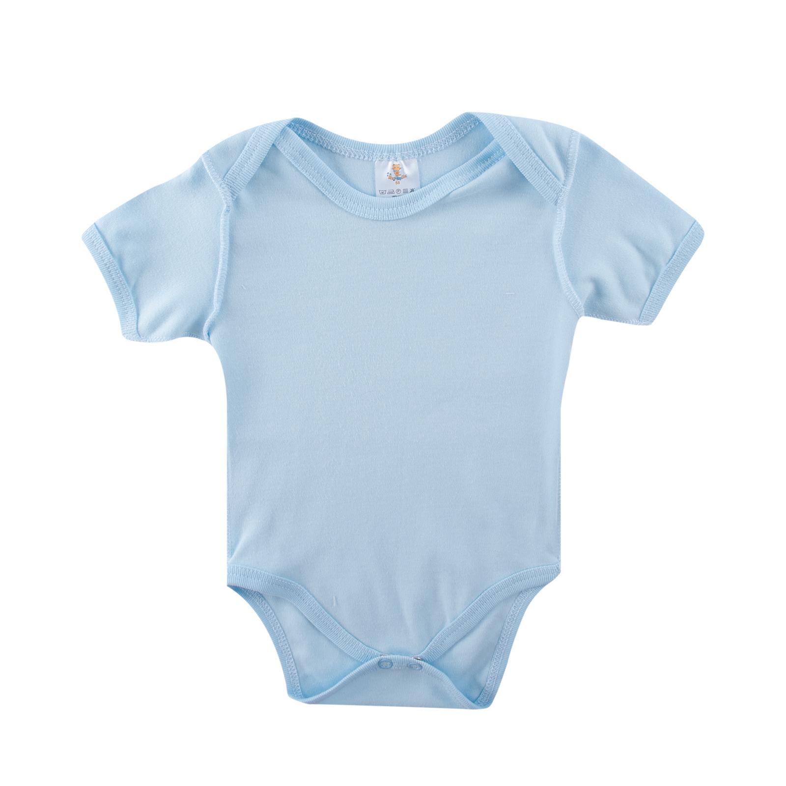 Боди без рукава КОТМАРКОТ для мальчика, цвет голубой 6-9 мес (размер 74 см)<br>