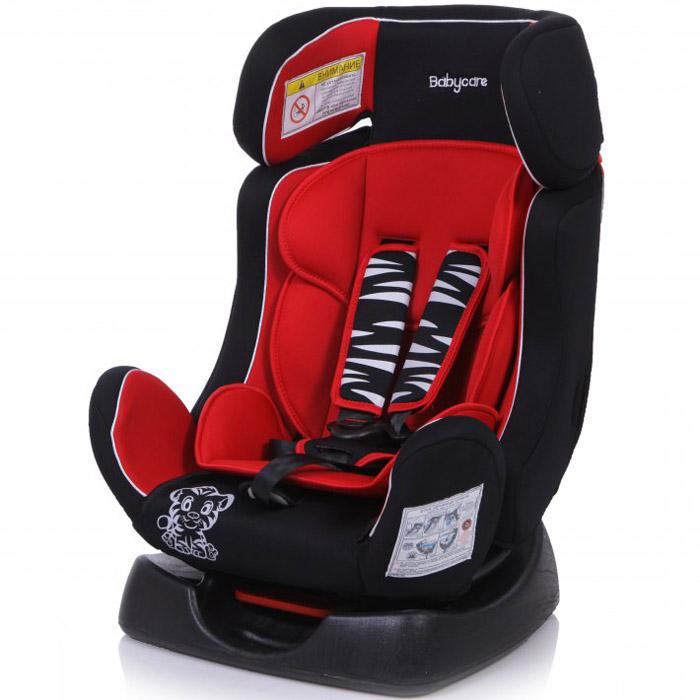 Детское автомобильное кресло Baby Care BC-719 Люкс Тигрёнок Красное