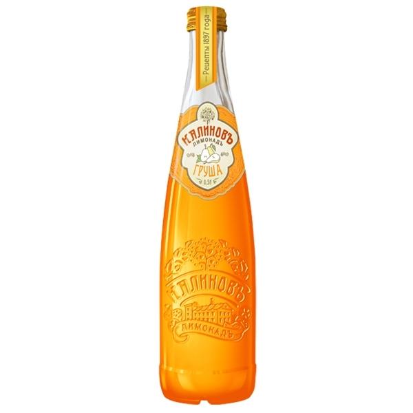 Лимонад КалиновЪ Винтажный 0,5 л груша (стекло)