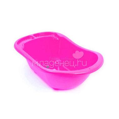 Ванна DUNYA Plastic детская с отливом широкая цвет - Розовый