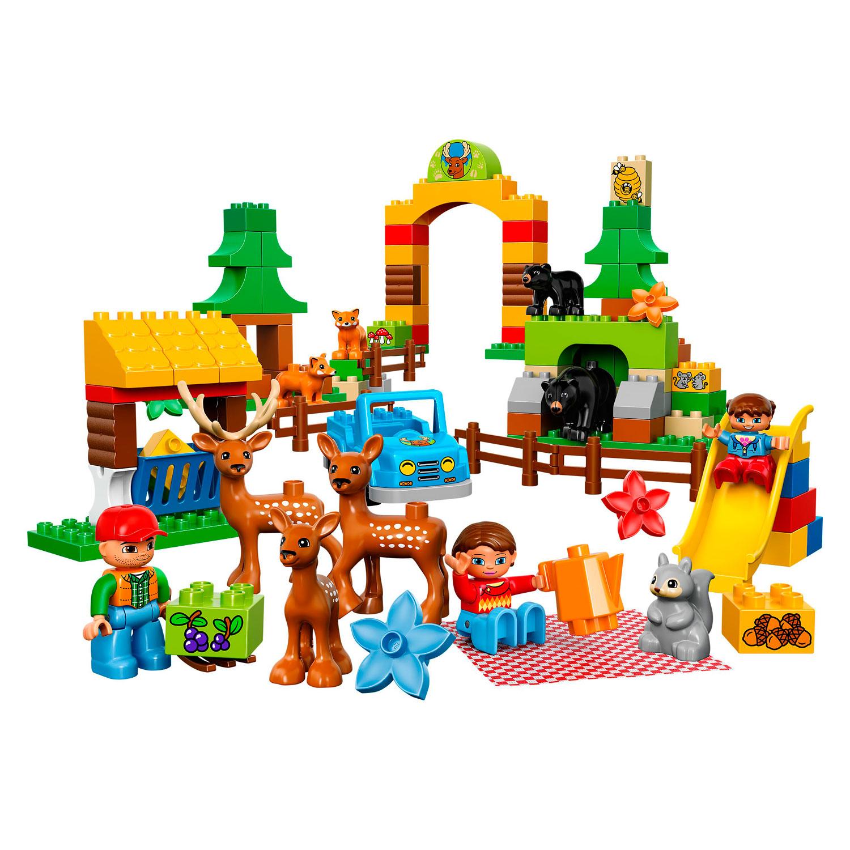 Конструктор LEGO Duplo 10584 Лесной заповедник<br>