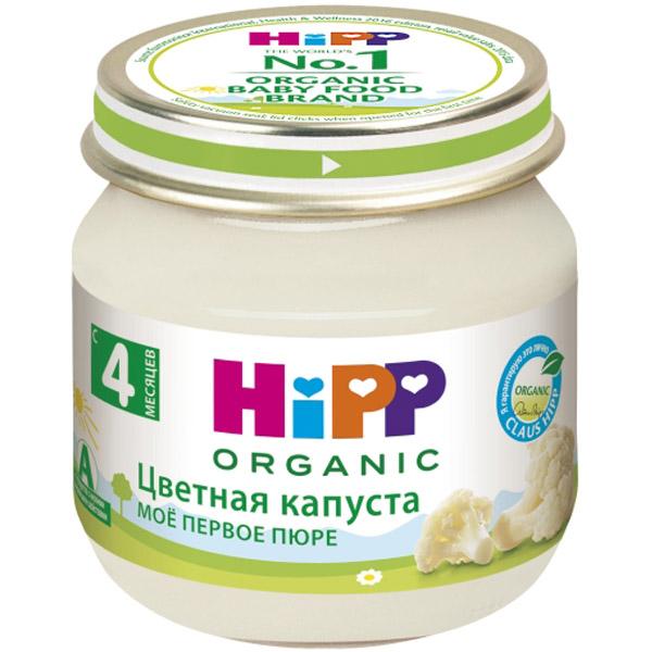 Пюре Hipp овощное 80 гр Цветная капуста (с 4 мес)<br>
