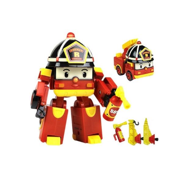 Машинки-трансформер Silverlit Poli Robocar Пожарная (с 3 лет)