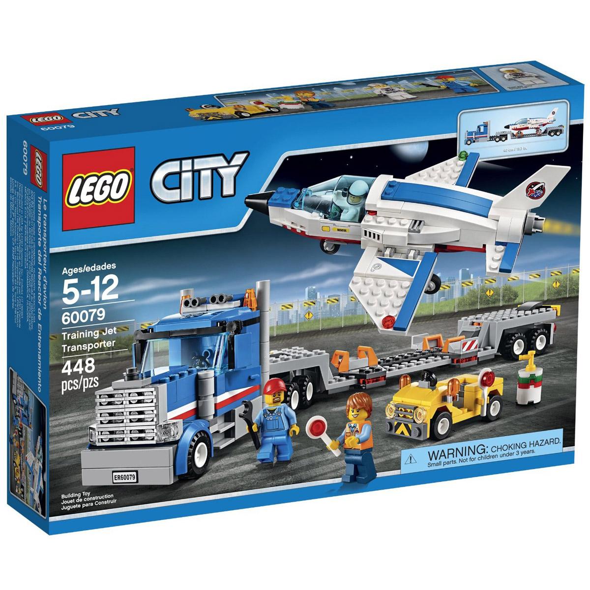 Конструктор LEGO City 60079 Транспортер для учебных самолетов<br>