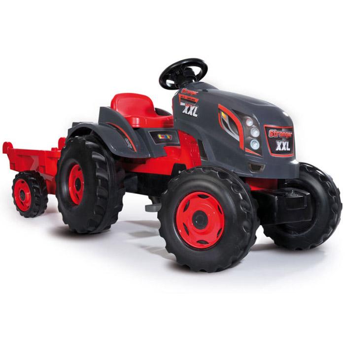 Трактор педальный Smoby XXL с прицепом 160х59х56 см<br>
