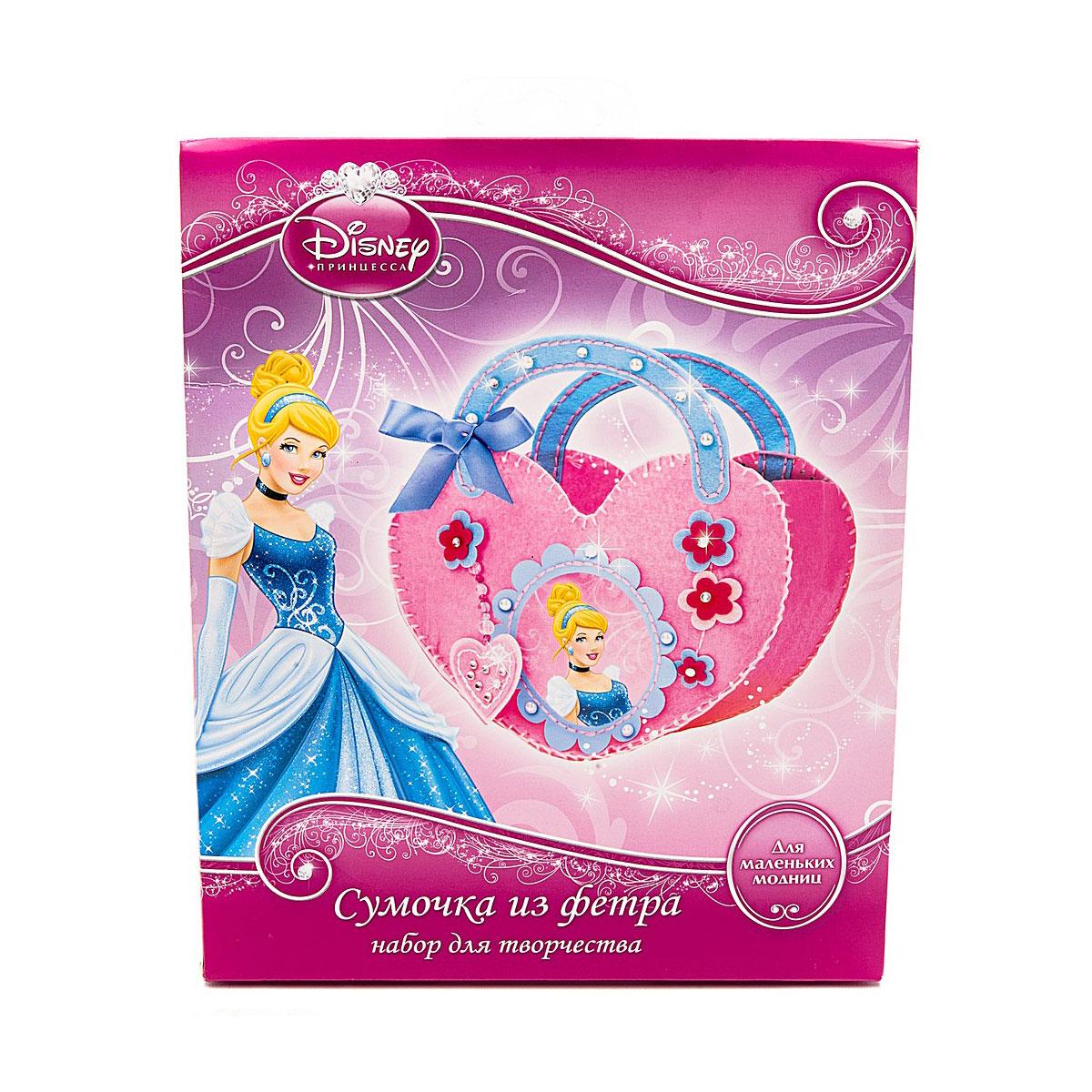 Набор для творчества Multiart Принцессы Disney сделай сумочку из фетра<br>