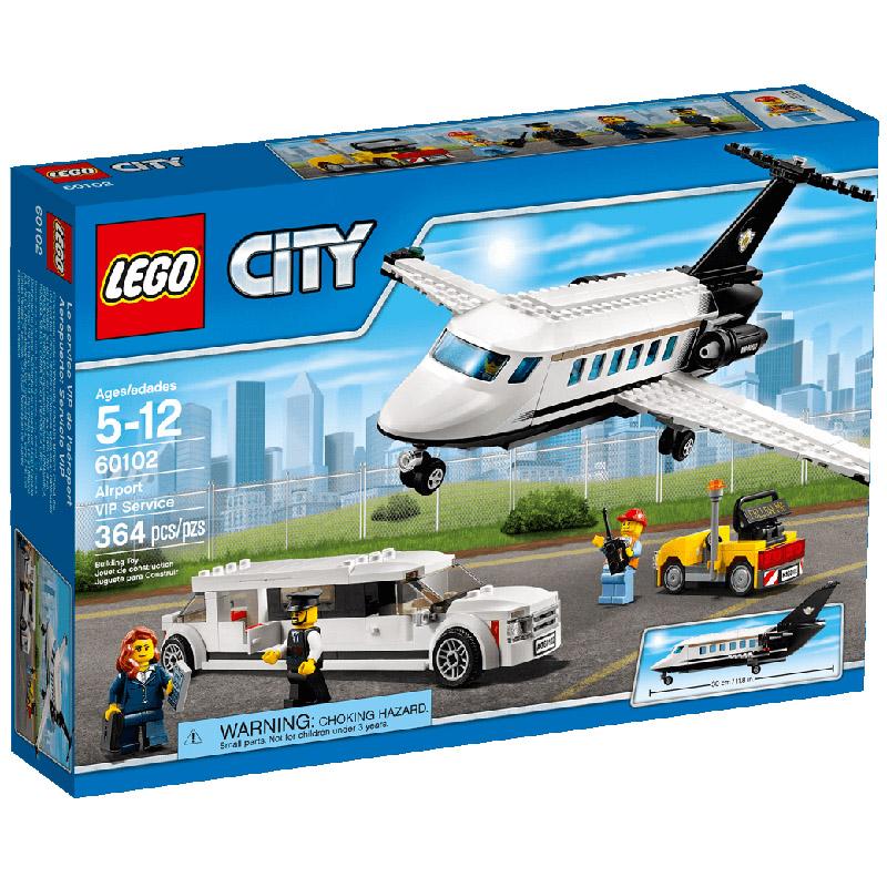 Конструктор LEGO City 60102 Служба аэропорта для VIP-клиентов<br>