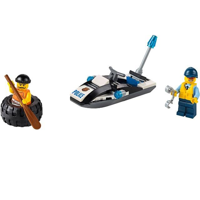 Конструктор LEGO City 60126 Побег в шине<br>