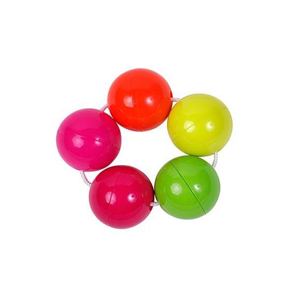 Погремушка ПОМА Цветные шарики<br>