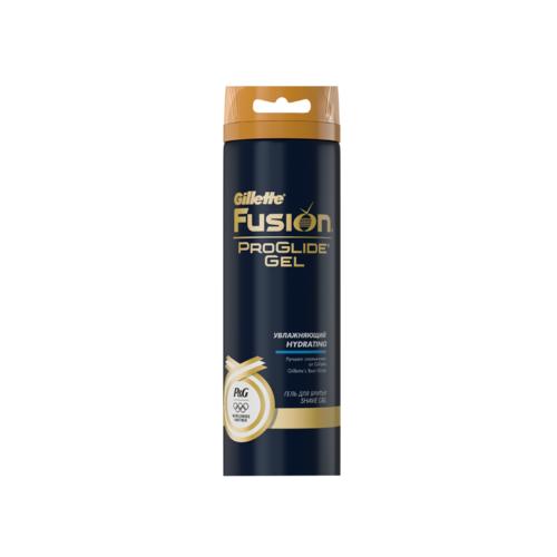 Гель для бритья Gillette Fusion ProGlide 170 мл Gold  увлажняющий<br>